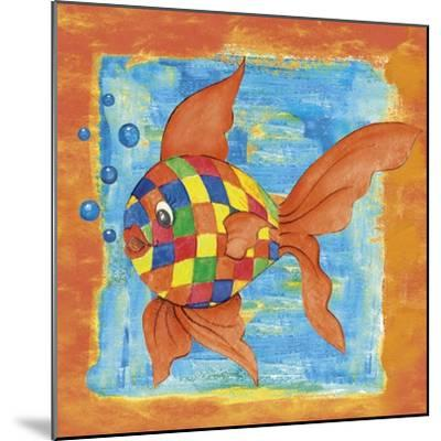 Fishes Colors 03-Maria Trad-Mounted Giclee Print