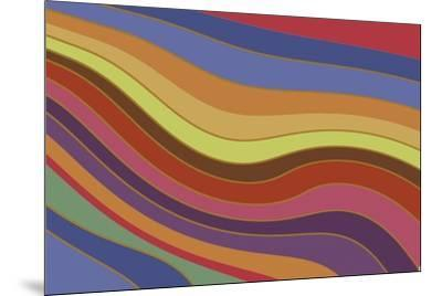 Modern Rainbow-Maria Trad-Mounted Giclee Print