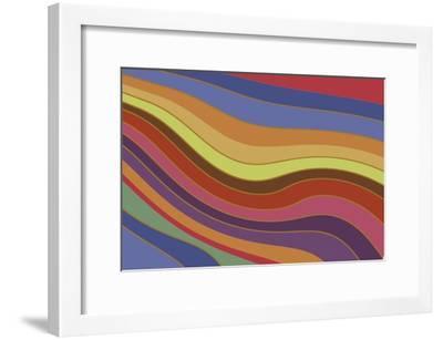 Modern Rainbow-Maria Trad-Framed Giclee Print