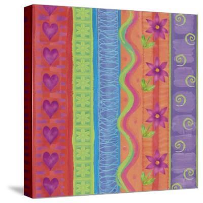 Fantasy Colors 01-Maria Trad-Stretched Canvas Print