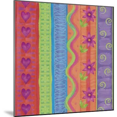 Fantasy Colors 01-Maria Trad-Mounted Giclee Print