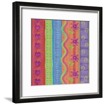 Fantasy Colors 01-Maria Trad-Framed Giclee Print