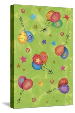 Balloons-Maria Trad-Stretched Canvas Print