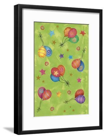Balloons-Maria Trad-Framed Giclee Print