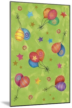 Balloons-Maria Trad-Mounted Giclee Print