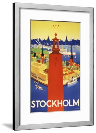 Stockholm-Marcus Jules-Framed Giclee Print