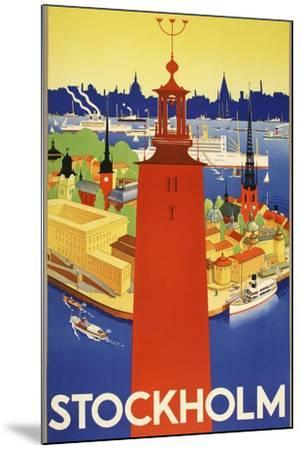 Stockholm-Marcus Jules-Mounted Giclee Print