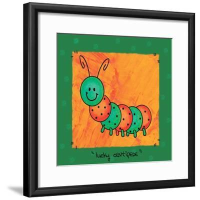 Bug Colors 05-Maria Trad-Framed Giclee Print