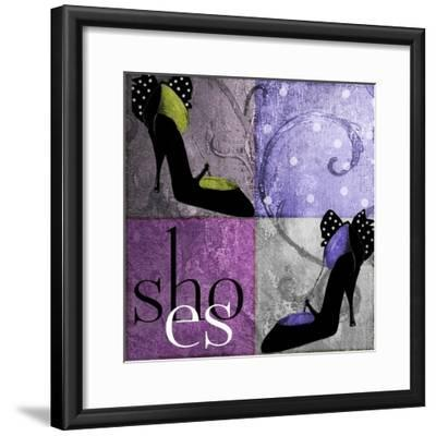 Shoes I-Mindy Sommers-Framed Giclee Print