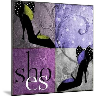 Shoes I-Mindy Sommers-Mounted Giclee Print