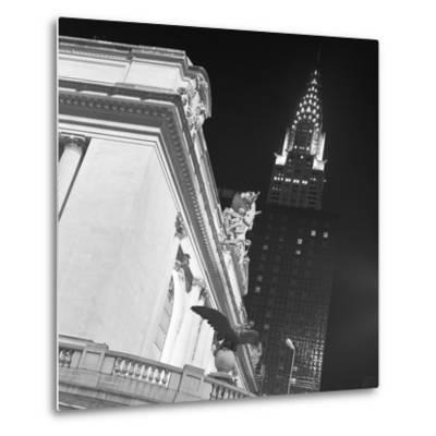 New York 003-Moises Levy-Metal Print