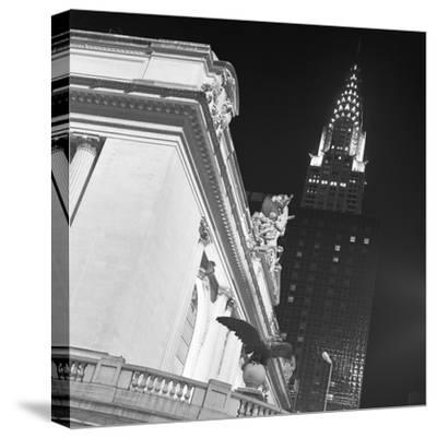 New York 003-Moises Levy-Stretched Canvas Print