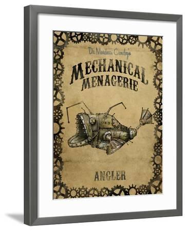 Angler-Michael Murdock-Framed Giclee Print