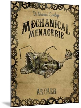 Angler-Michael Murdock-Mounted Giclee Print