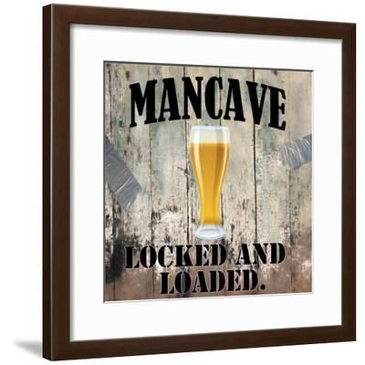 Mancave III-Mindy Sommers-Framed Giclee Print