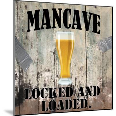 Mancave III-Mindy Sommers-Mounted Giclee Print