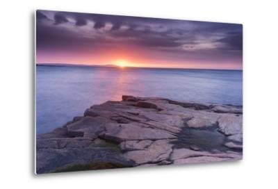 Granite Markings-Michael Blanchette-Metal Print