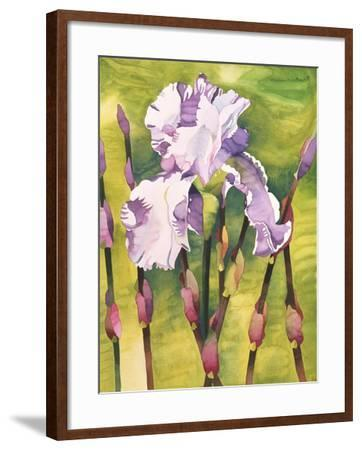 Forest Iris-Mary Russel-Framed Giclee Print