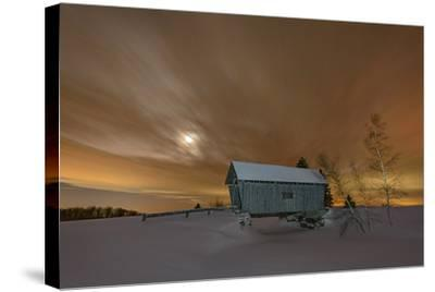 Winter Glow-Michael Blanchette-Stretched Canvas Print