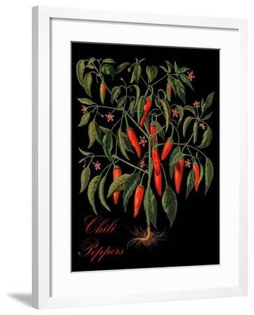 Chili Peppers-Mindy Sommers-Framed Giclee Print