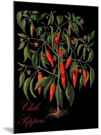 Chili Peppers-Mindy Sommers-Mounted Giclee Print
