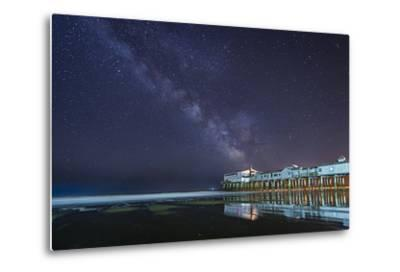 Pier in the Stars-Michael Blanchette-Metal Print