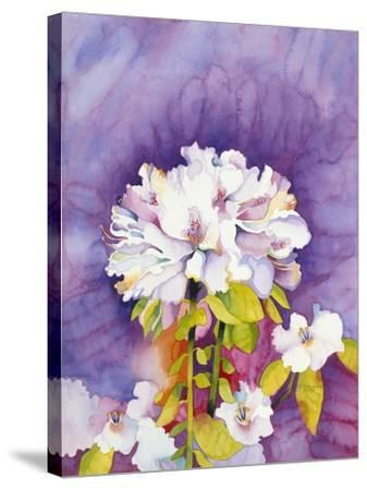Moonflower-Mary Russel-Stretched Canvas Print