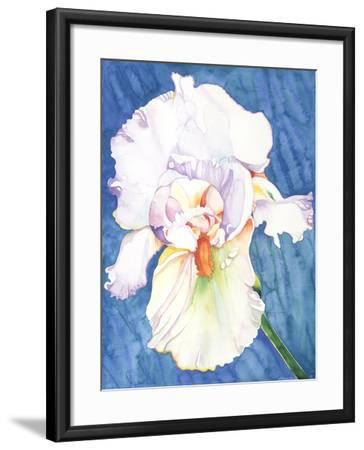 White Iris-Mary Russel-Framed Giclee Print