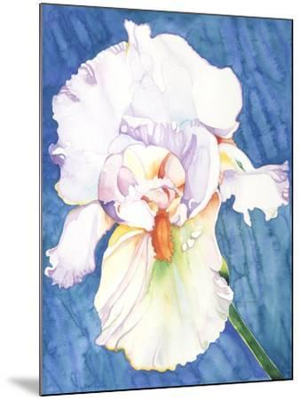 White Iris-Mary Russel-Mounted Giclee Print