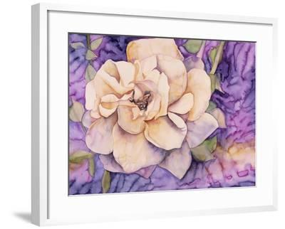 Yellow Rose-Mary Russel-Framed Giclee Print