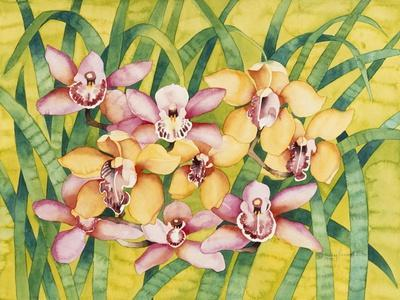 Winter Orchids-Mary Russel-Framed Giclee Print