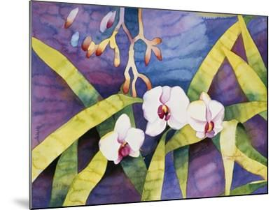 Water Orchids-Mary Russel-Mounted Giclee Print