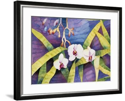 Water Orchids-Mary Russel-Framed Giclee Print