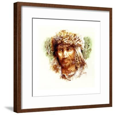 Frontier Man-Nate Owens-Framed Giclee Print