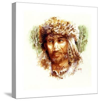 Frontier Man-Nate Owens-Stretched Canvas Print
