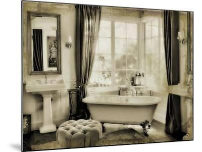 Powder Room-Mindy Sommers-Mounted Giclee Print