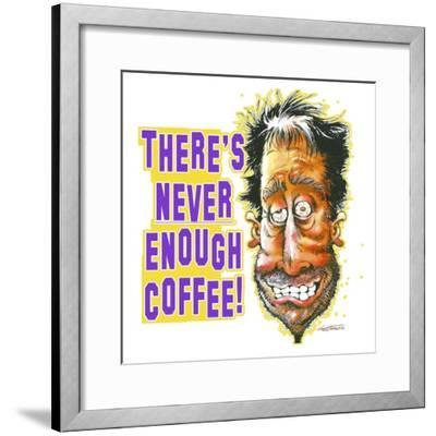 Never Enough Coffee-Nate Owens-Framed Giclee Print