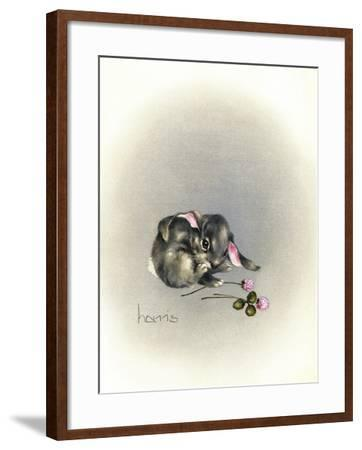 Ears Lookin at You Kid-Peggy Harris-Framed Giclee Print