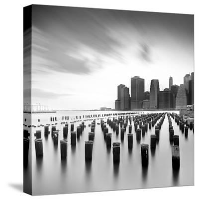 Mahattan Skyline 2-Moises Levy-Stretched Canvas Print