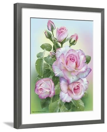 Morning Roses-Olga And Alexey Drozdov-Framed Giclee Print