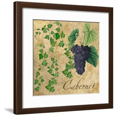 Cabernet-Mindy Sommers-Framed Giclee Print