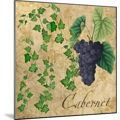 Cabernet-Mindy Sommers-Mounted Giclee Print