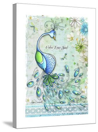 Color Your Soul-Megan Duncanson-Stretched Canvas Print