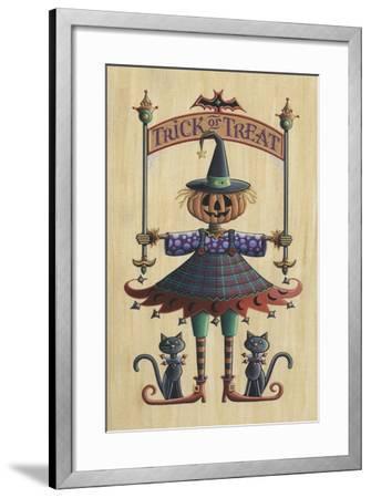 The Pumpkin Queen-Michele Meissner-Framed Giclee Print
