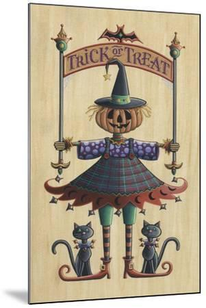 The Pumpkin Queen-Michele Meissner-Mounted Giclee Print