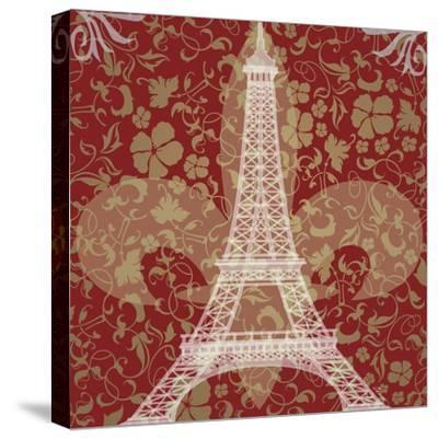 Eiffel Tower-Michelle Glennon-Stretched Canvas Print