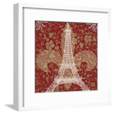 Eiffel Tower-Michelle Glennon-Framed Giclee Print