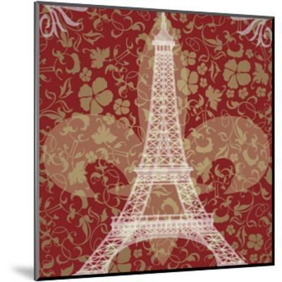 Eiffel Tower-Michelle Glennon-Mounted Giclee Print
