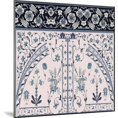 Wedgewood Trellis-Mindy Sommers-Mounted Giclee Print