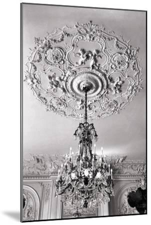 Ornate Ceiling Engraving-Mindy Sommers-Mounted Giclee Print